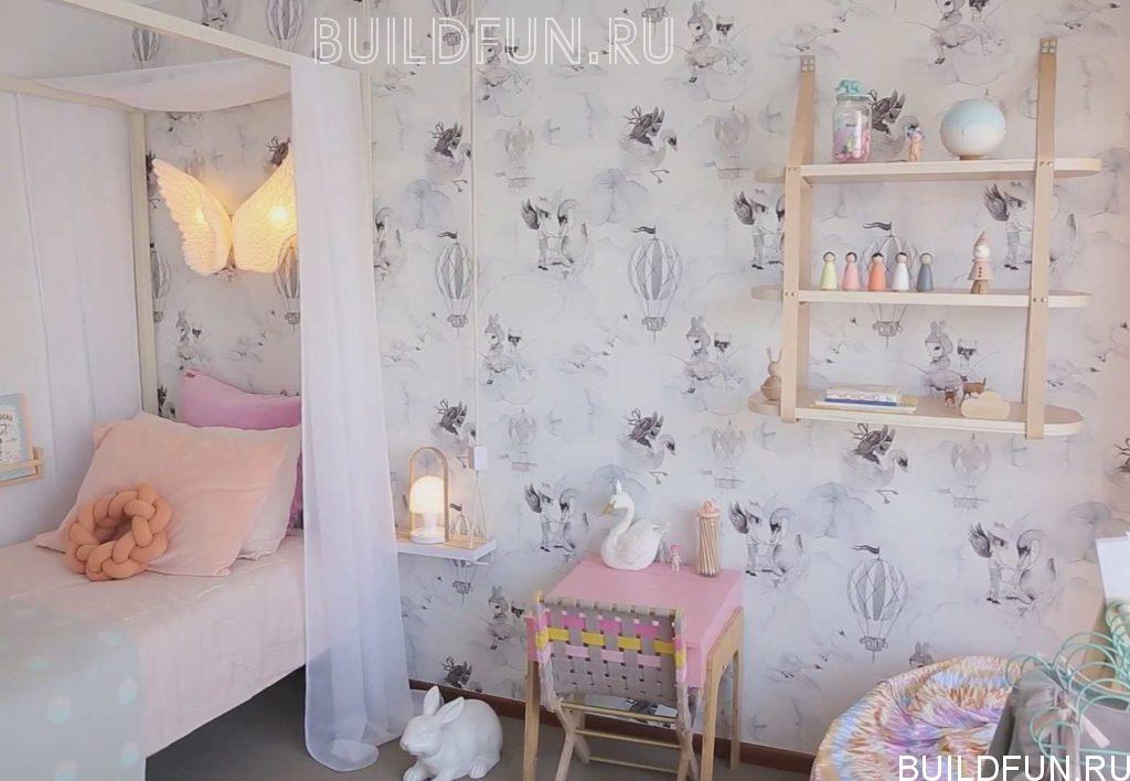 Создаем дизайн детской комнаты 12 квадратов