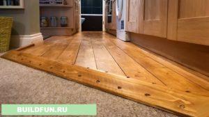 Часто деревянный пол красить необязательно