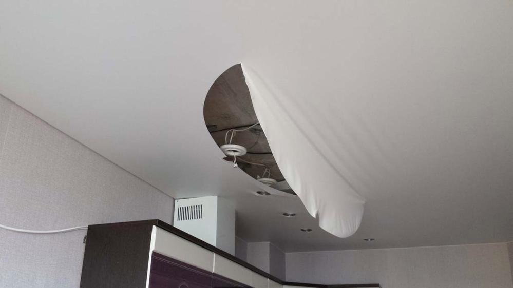 Светодиодные светильники на белом потолке - это красиво?