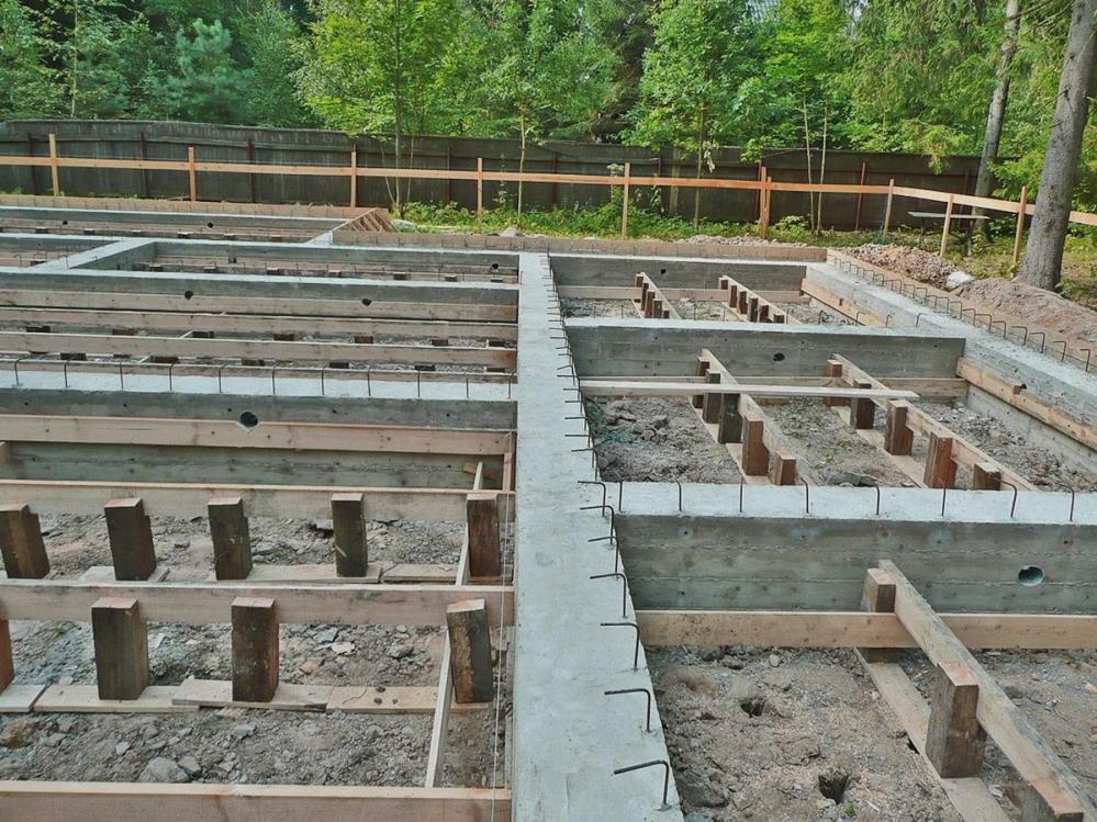 Заготовка под фундамент должна отвечать всем необходимым строительным нормам