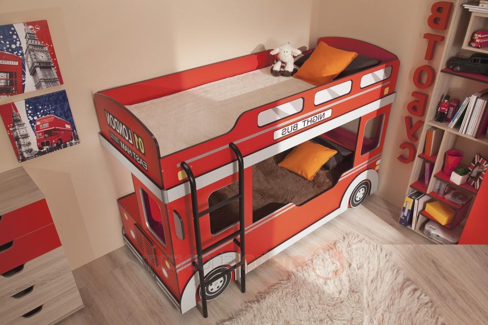 Двухъярусная кровать для малышей