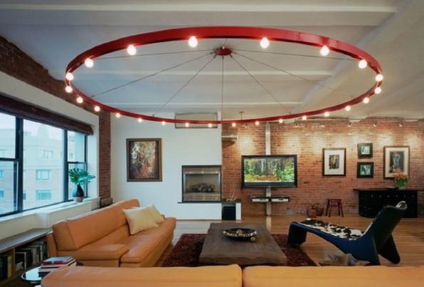 какую лампу выбрать для гостиной