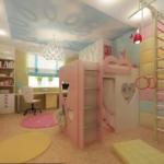 Как создать и оформить детскую комнату для девочки