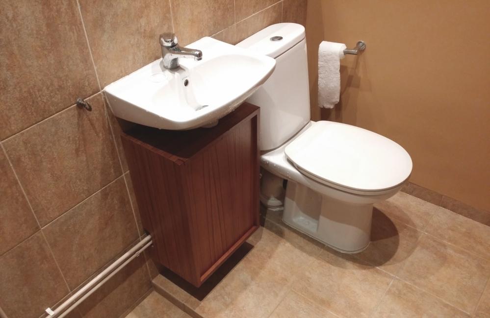 Ванная с гидроизоляцией - красиво и практично