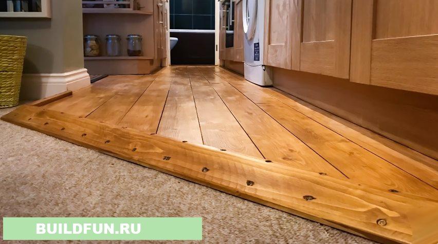 Каким цветом покрасить деревянный пол