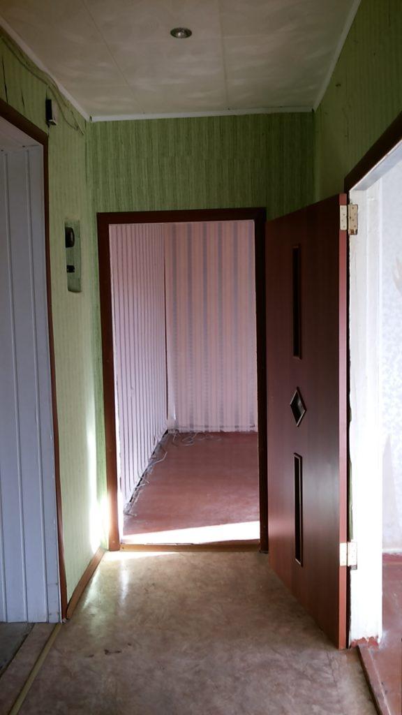 Так выглядела квартира когда мы заехали в нее