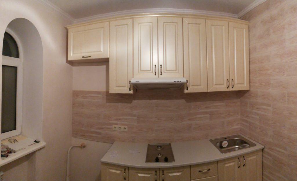 Так выглядит кухня после нашего ремонта