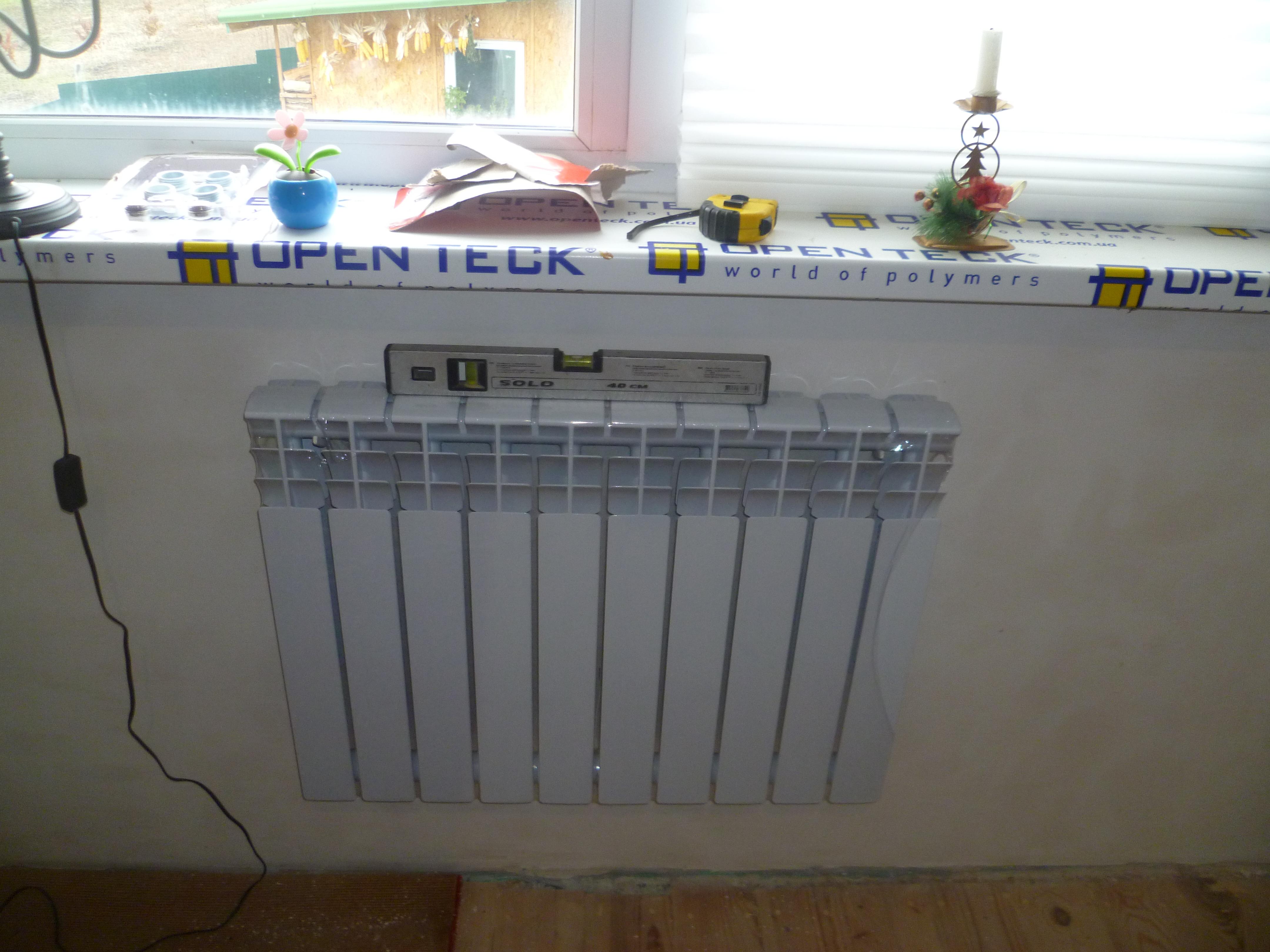Установленный на лоджии отопительный радиатор - повод обратиться в суд?