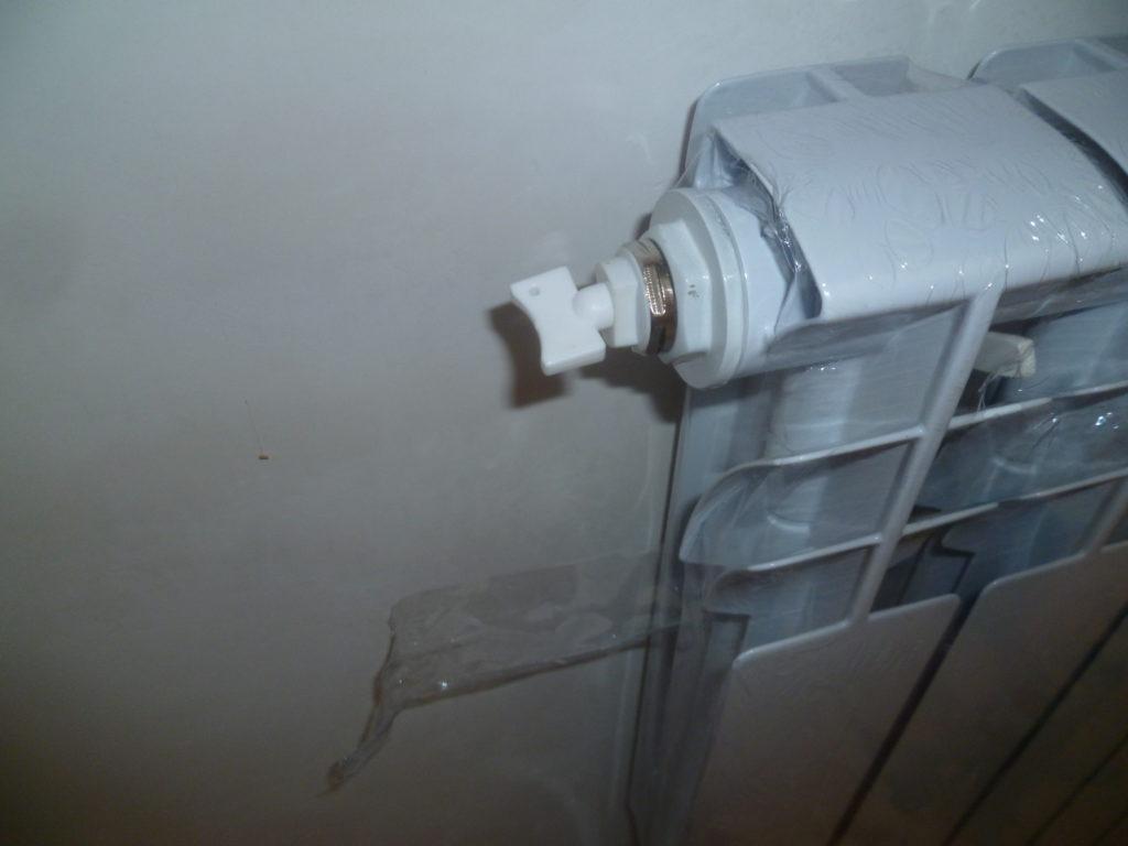 Наконец фото установленного радиатора