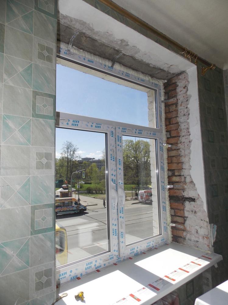 Откосы - это неотъемлемый элемент любого окна