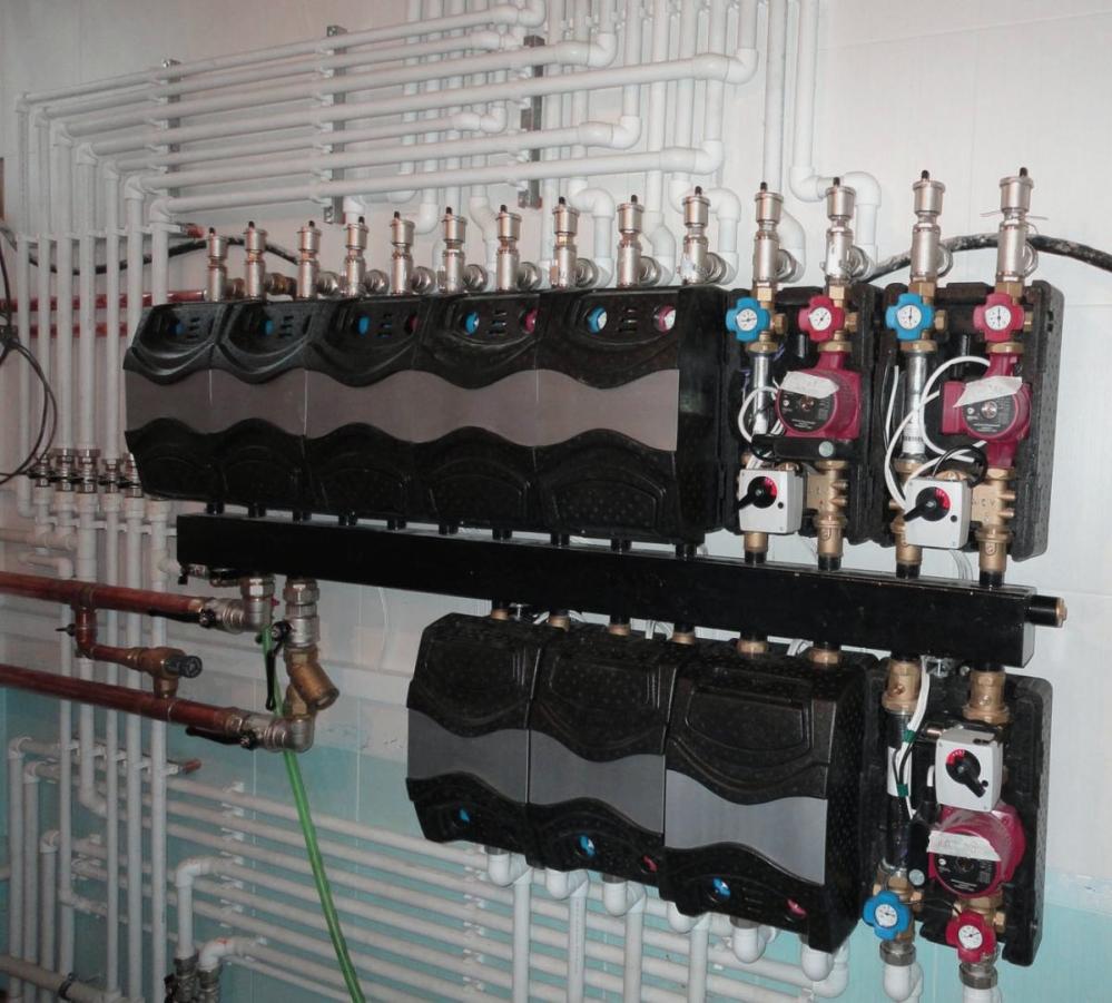 Системы отопления и водоснабжения в большом частном доме могут быть невероятно сложными