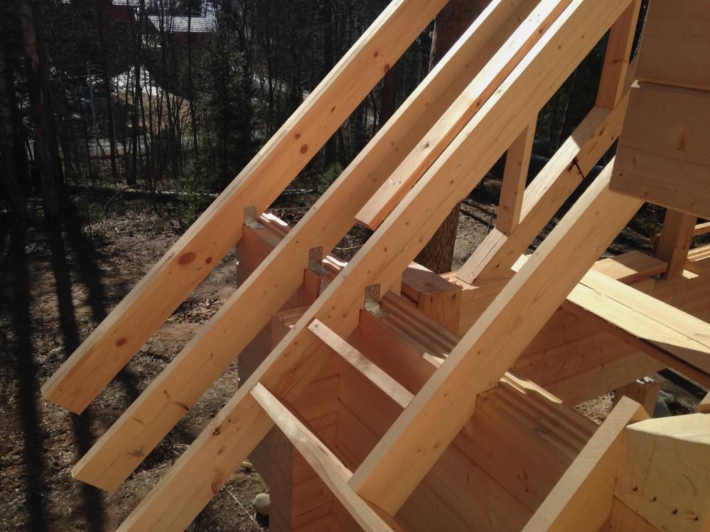 Крыша должна устанавливаться только согласно технологии