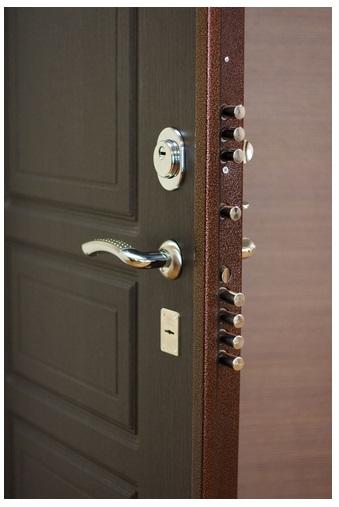 какая должна быть ширина стали входной двери