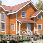 Брус 200х200 в строительстве домов