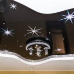 Подбор фактуры натяжного потолка к интерьеру помещения