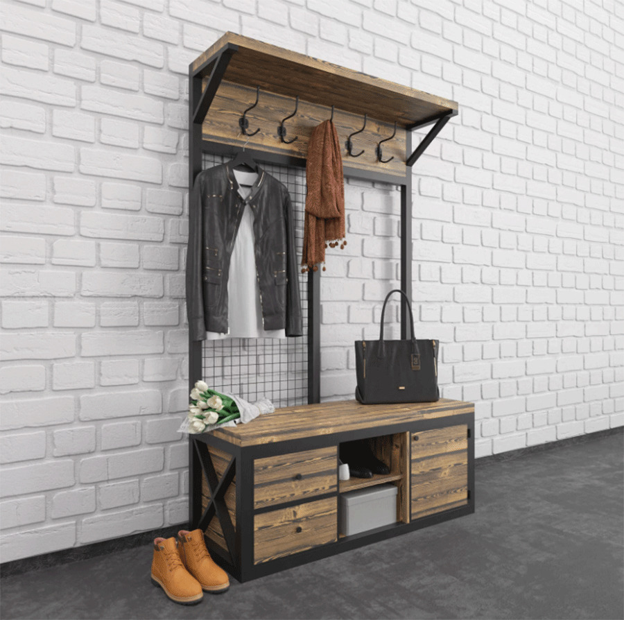 Мебель в стиле лофт – универсальное решение для дома и офиса